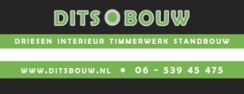 DITS bouw stickers Full Colour gedrukt