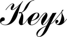 Keys Deursticker 123_000