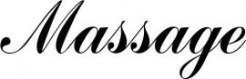 Massage Deursticker 123_000