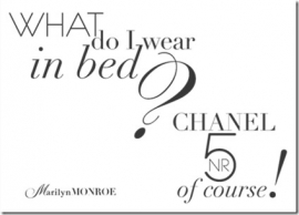 What do I wear in bed?