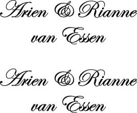 Arien & Rianne van Essen