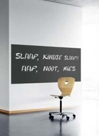 Schoolbordkrijtfolie 100cm x 61,5 cm Zwart