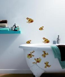 Caselio Trendy Stickers STU53737017 Frog Rouge