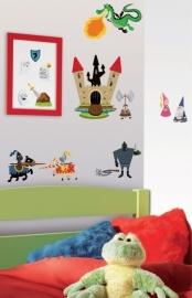 Caselio Trendy Stickers STU57031005 Castle