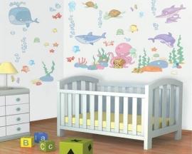 Baby Onderwater Room Decor Kit