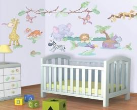 Baby Jungle Room Decor Kit