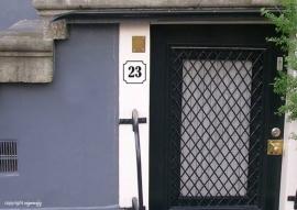 Voordeur Huisnummer Classic 123_000