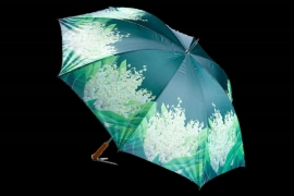 Paraplu met leliederdalen