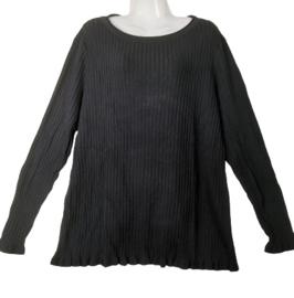 YESTA Zwarte pullover 50