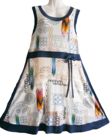 TWISTER Mooie stretch jurk 44-46