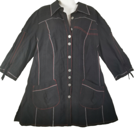 KJ BRAND Mooie blouse/jas 52-54