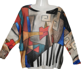 Trendy gebreid  ibiza shirt 44