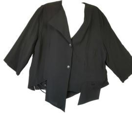 Sempre PIU Apart zwart blouse/jasje  48