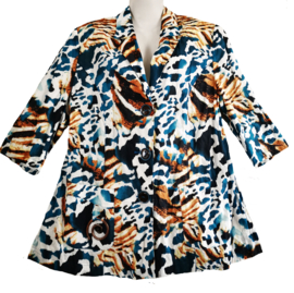 SEMPRE PIU Aparte katoenen blazer/blouse  46-48