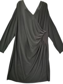 VERPASS Prachtige zwarte stretch jurk 56