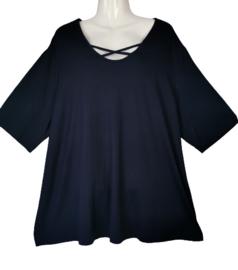 VERPASS Mooi navy  stretch shirt 54