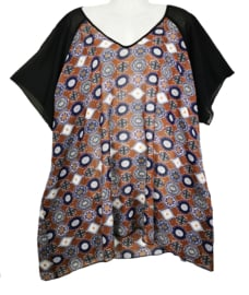 OPHILIA Mooie zomerblouse 48