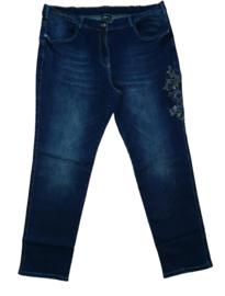 NO SECRET Trendy stretch jeans met borduursel 46