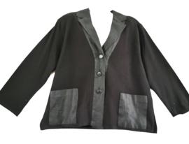 KARIN GLASMACHER Apart zwart vest 48-50