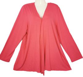 VIA APPIA Trendy roze tricot vestje 48-50