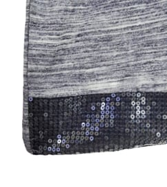 VIA APPIA Trendy stretch shirt met pailletjes 46-48