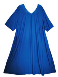 CHALOU Prachtige wijde A-lijn stretch jurk 52