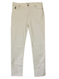 BLUE FROG Trendy witte stretch broek 46 (skinny fit)