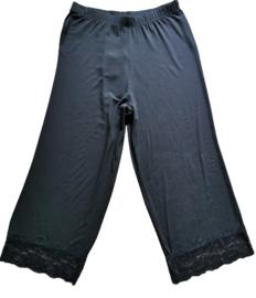 SOPHIA Aparte tricot broek met kant 50-52