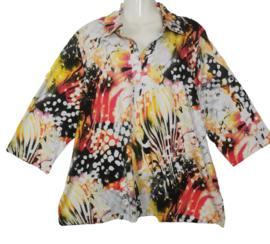 GINA G Mooi stretch shirt 50