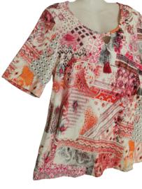 CHALOU Mooi stretch shirt 46