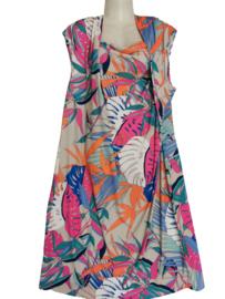 TIA Aparte gedrapeerde stretch jurk 52