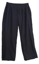 X-TWO  Linnen broek met elastische taille  46