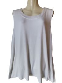PERSE Witte stretch top 46