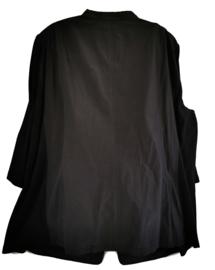 SAMOON Super mooi zwart vest/ jasje 46-48