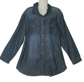APRICO Trendy jeans blouse 56
