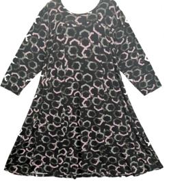 ZHENZI Leuke wijde stretch jurk 54-56