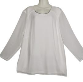 MY WAY FER Prachtige blouse met strass 50-52