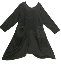 MOONSHINE Aparte wijde stretch jurk 50-56