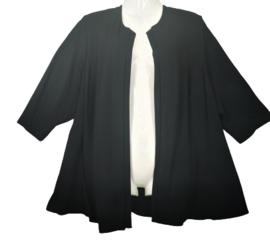 DORISSTREICH Mooi zwart tricot vestje 54