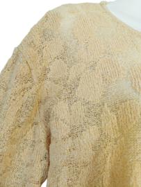APRIORI Prachtige gebreide trui met zijde 48