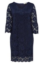 BELLOYA Luxe stretch kanten jurk 44-46