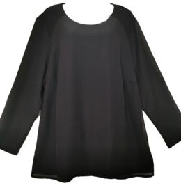 MY WAY FER Prachtige blouse met strass 46