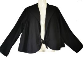 Q-NEEL Mooi zwart bamboo jasje 44-46