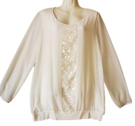 SAMOON Chique roomkleurige blouse 44