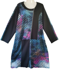 FRANCE RIVOIRE Mooie stretch jurk 50