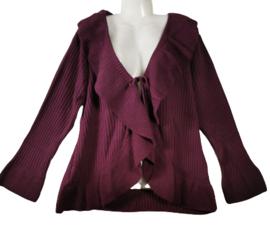 Trendy gebreid vest 48-50