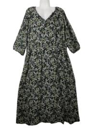 YESTA Geweldige mille fleur jurk 50