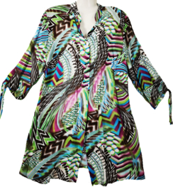 VERPASS Prachtige gekleurde blouse 48