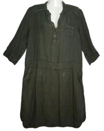 ZELI Apart linnen jurkje 44