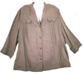 SAMOON Linnen blouse/jasje 52